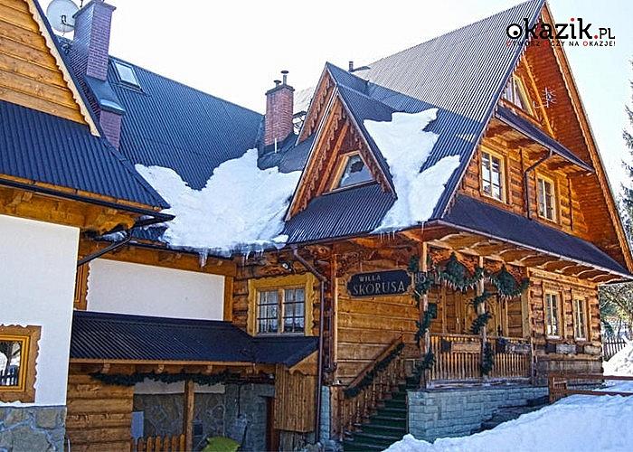 4-, 5- lub 6-dniowy pobyt na zimę i wiosnę dla 2 osób ze śniadaniami w WILLI SKORUSA U MICHALSKICH W ZAKOPANEM