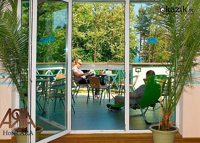 FERIE 2018 w Hotelu ARA w Jastrzębiej  Górze. Sauna, solarium, sala fitness, bilard i tenis stołowy do dyspozycji!