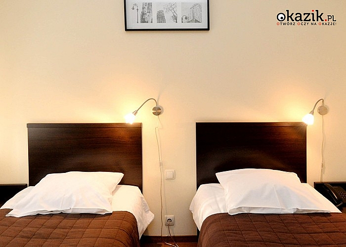 HOTEL LIBURNIA w Cieszynie przez cały rok! Słodka niespodzianka na powitanie, śniadanie, mini siłownia i Wi-Fi