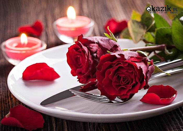 Walentynki w hotelu-restauracji Dwór Wapowce! Przemyśl! Romantyczny pobyt w intymnej atmosferze i nastrojowej muzyce!