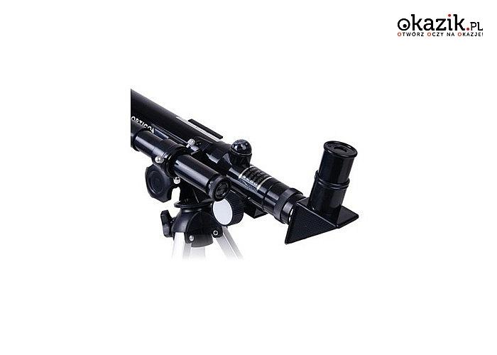 Teleskop opticon finder dla miłośników astronomii do