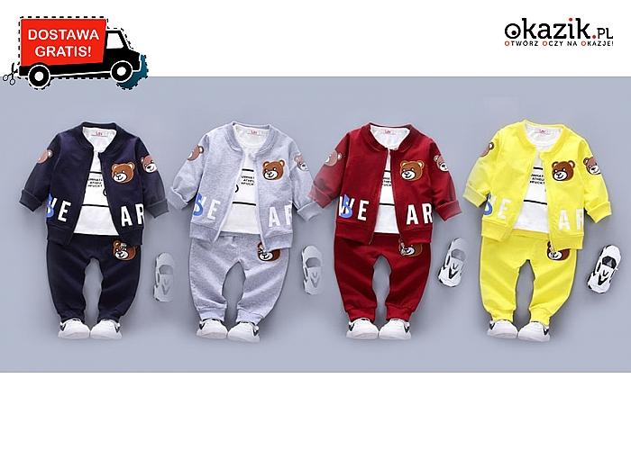 Najnowsza jesienna kolekcja w super cenie!!! Dres dziecięcy- komfortowy zestaw dla najmłodszych pociech