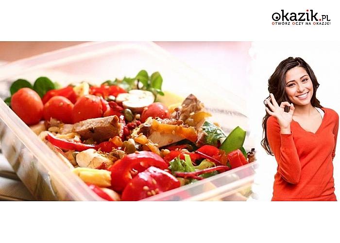 CATERING DIETETYCZNY LunchBox! 3 posiłki. Dieta na 5 lub 10 dni. Warszawa