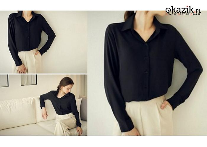 Eleganckie koszule damskie: klasyczny, ponadczasowy  pA55r