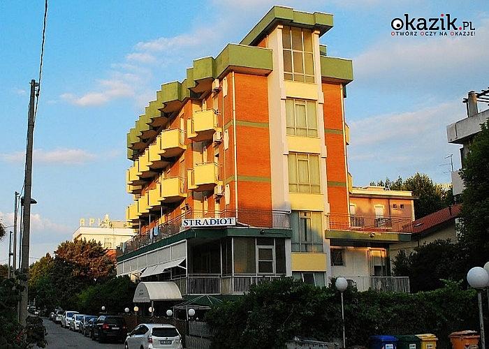 Wypoczynek w Rimini! Hotel Stradiot***! Śniadania i obiadokolacje! Opieka pilota i rezydenta! Przejazd autokarem!