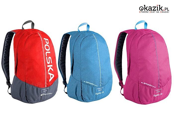 38d7bdec79327 Plecak szkolny miejski Spokey! Idealnie sprawdzi się jako plecak miejski