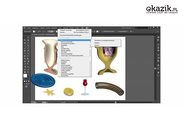 Kurs online: Adobe Illustrator CS6 dla zaawansowanych i początkujących. Roczny dostęp do platformy TeacherBird.com