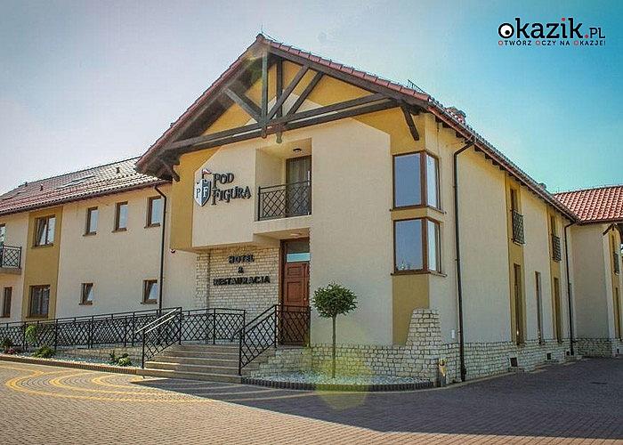 Wakacje w Hotelu Pod Figurą***! Jeden z najbardziej malowniczo położonych obiektów na Jurze Krakowsko – Częstochowskiej!