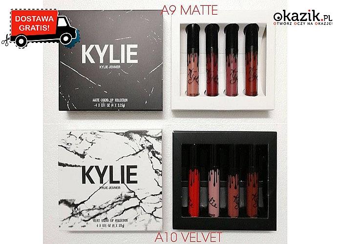 Bądź jak Kylie Jenner! Pomadki gwarantujące długotrwały efekt! Doskonałe wykończenie i wysoka pigmentacja!