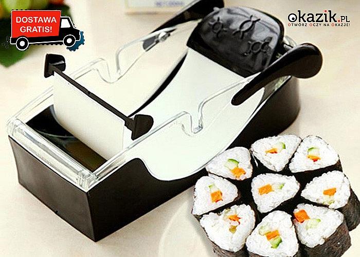 NOWOŚĆ! Maszynka do sushi! Doskonały gadżet dla miłośników japońskiej kuchni! Najwyższa jakość!