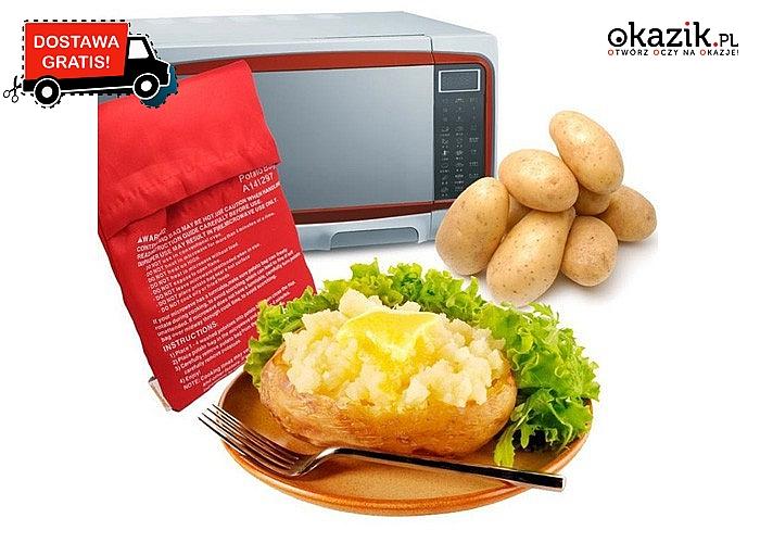 Torba do szybkiego gotowania ziemniaków w mikrofalówce