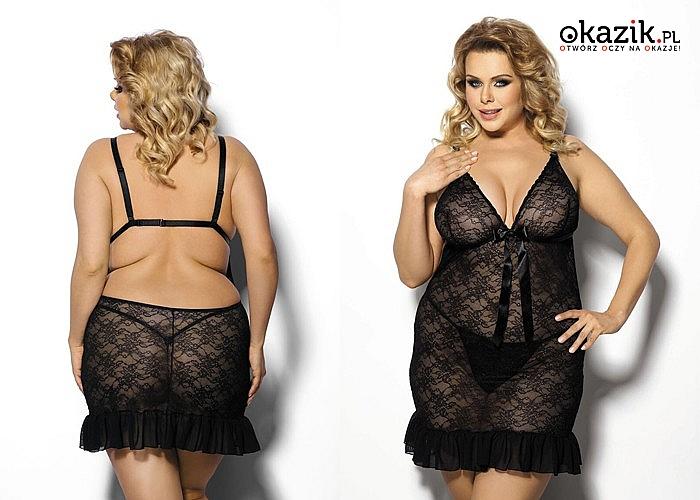 Bielizna erotyczna Plus Size! Najwyższa jakość materiałów! Spełni potrzeby nawet najbardziej wymagających!