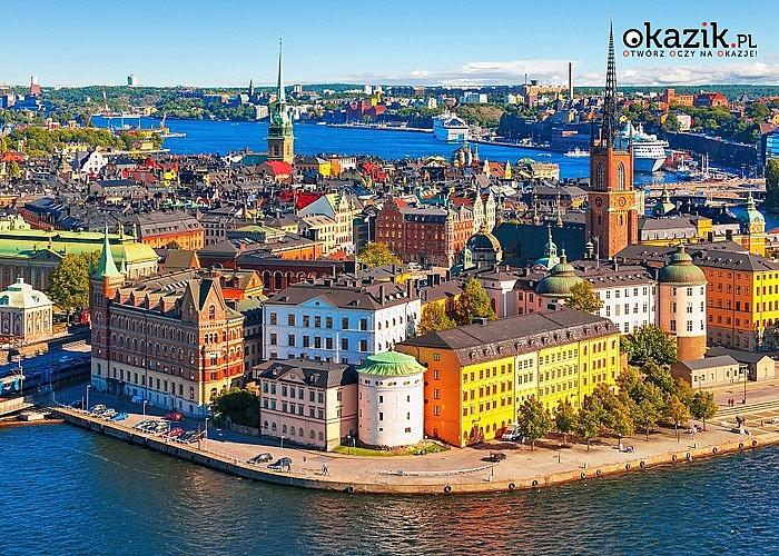 WYCIECZKA PROMEM do Rygi, Sztokholmu i Wilna! 5 dni, 3 kraje i 3 różne kultury