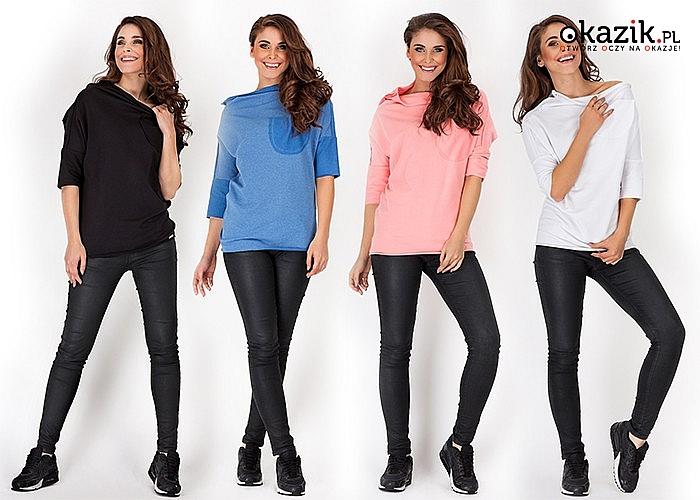 Bluza damska to konieczność w przypadku każdej kobiecej, sportowej stylizacji