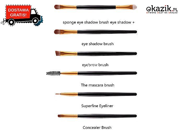 Pędzle do wykonania idealnego makijażu! Aż 20 elementów.