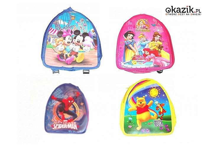 Urocze jednokomorowe plecaczki dziecięce!