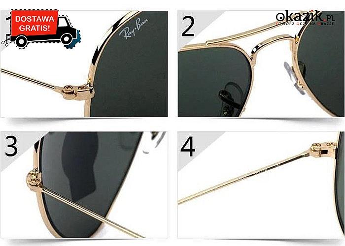 Wiecznie modne okulary Ray Ban! Mnóstwo modeli do wyboru! Najwyższa jakość!