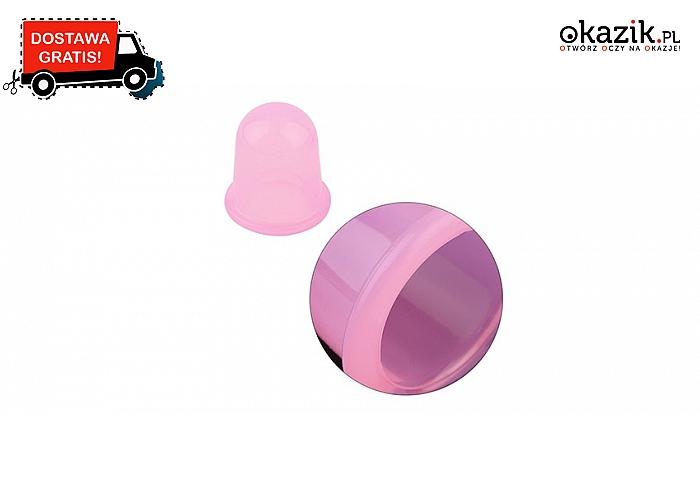 Antycellulitowa bańka silikonowa. 5 kolorów do wyboru (9,90 zł)