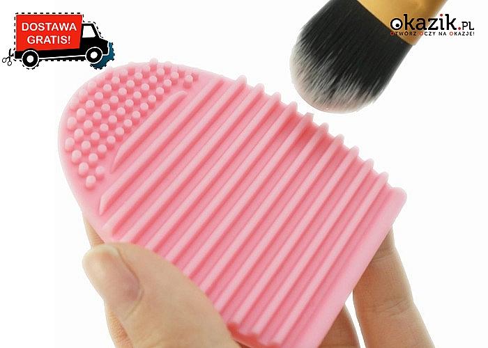 Rewolucyjna szczotka do czyszczenia pędzli! Zadbaj o ich higienę, to takie proste!