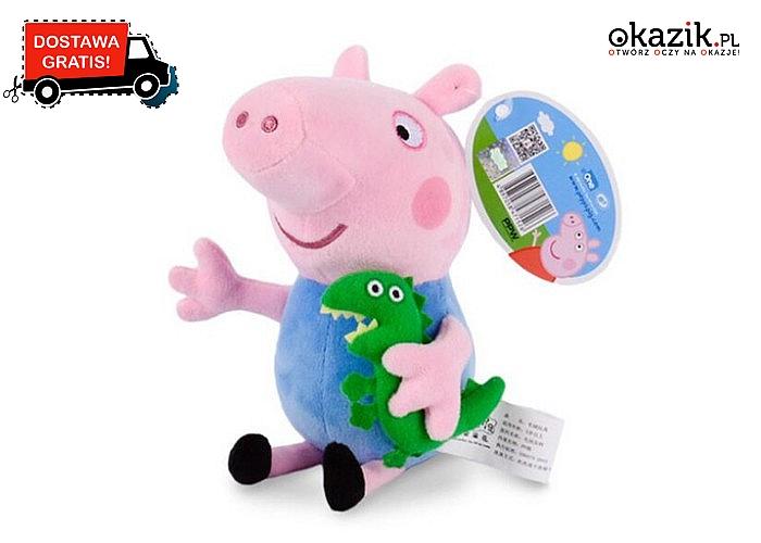 Maskotki z bajki Świnka Peppa! Zapoznaj dziecko z całą rodziną, świetna zabawa gwarantowana!