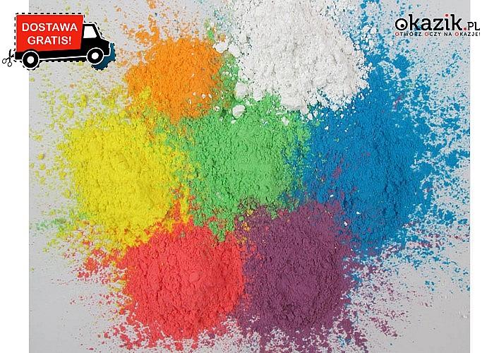 Proszek do zabawy dla dzieci i dorosłych. Festiwal kolorów!