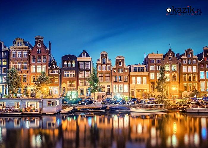 Wycieczka objazdowa do Holandii. Amsterdam na weekend, miasto które nigdy nie śpi. Przejazd autokarem klasy Premium