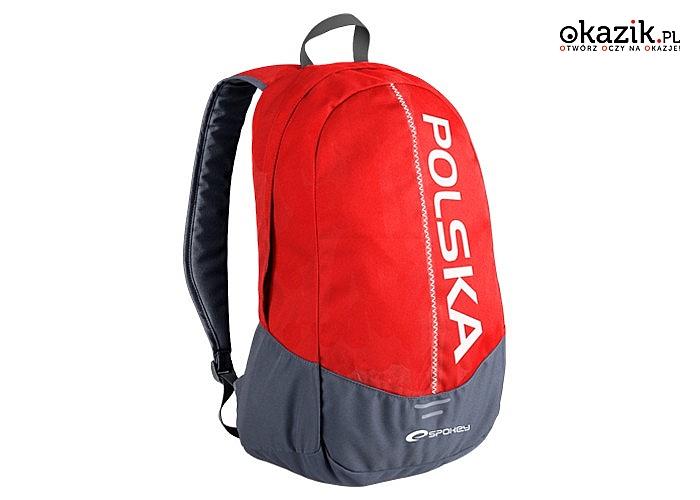 f17047446a193 Plecak szkolny miejski Spokey! Idealnie sprawdzi się jako plecak miejski