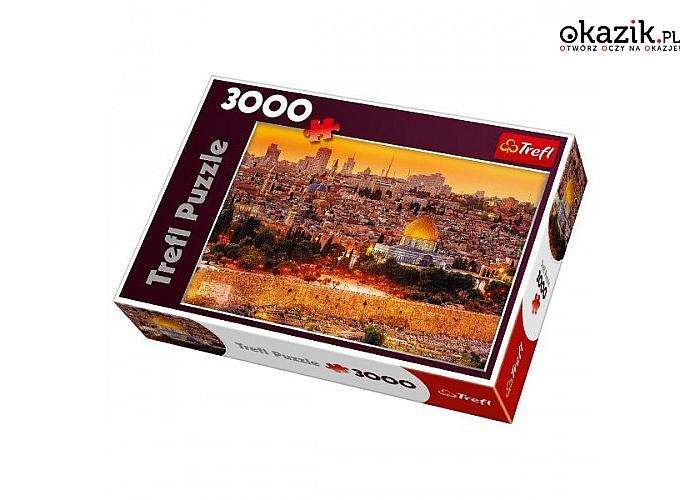 Trefl: 3000 elementów, Dachy Jerozolimy