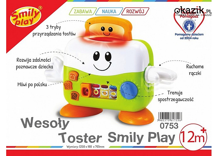 Smily: Wesoły toster
