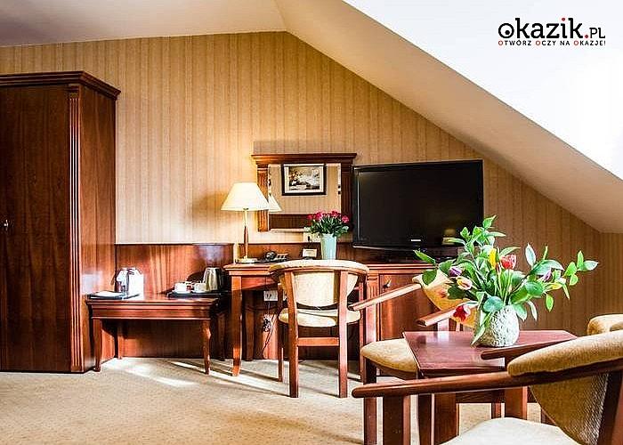 Romantyczny pobyt  w Hotelu Verde w Mścicach. Śniadania i kolacja przy świecach. Nielimitowany dostęp do strefy wellness