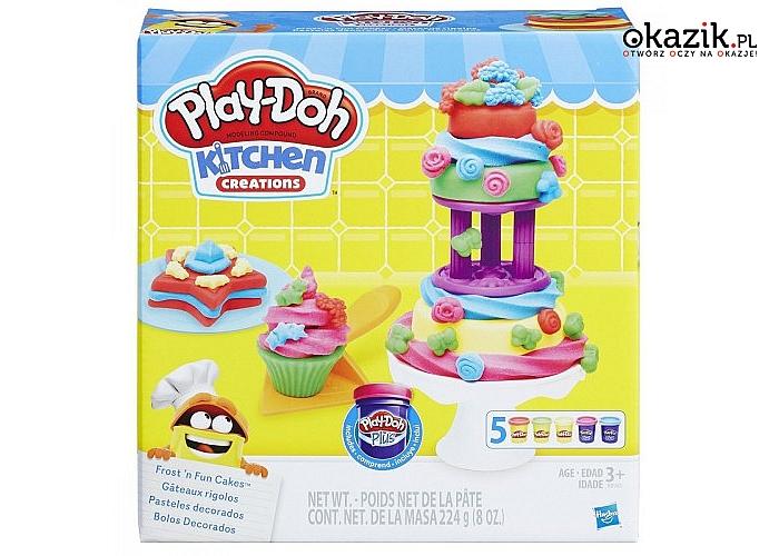Hasbro: PlayDoh Lukrowane ciasteczka