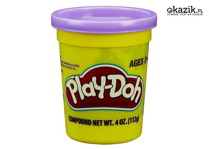 Hasbro: PlayDoh Tuba Pojedyncza na tacce, fioletowa