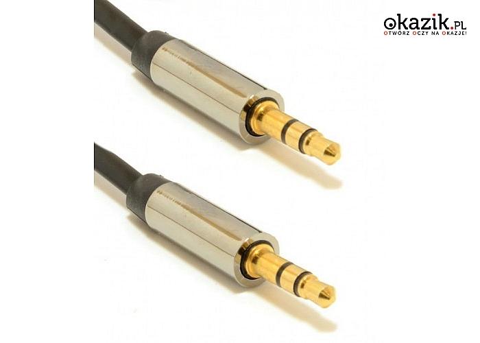 Gembird: Kabel stereo mini Jack 3.5mm M/M 0.75m