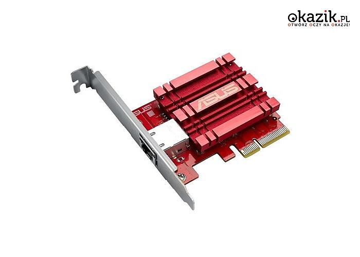 Asus: XG-C100C Karta Sieciowa PCI-E 10Gb