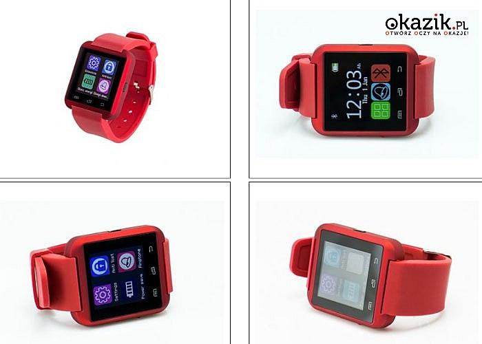 Smartwatch Garett G5 współgra ze smartfonami, komputerami oraz tabletami posiadającymi wbudowaną funkcję Bluetooth
