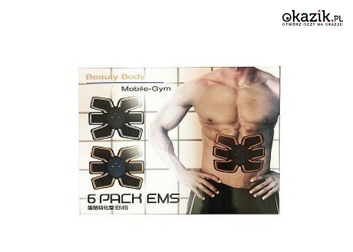 Elektrostymulator mięśni brzucha .Przełomowe urządzenie kształtujące brzuch