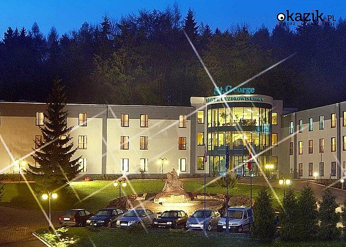 WEEKEND ANDRZEJKOWY! Uzdrowiskowy hotel St. George w Kudowie Zdrój! Wyżywienie! Bal! Zabiegi!