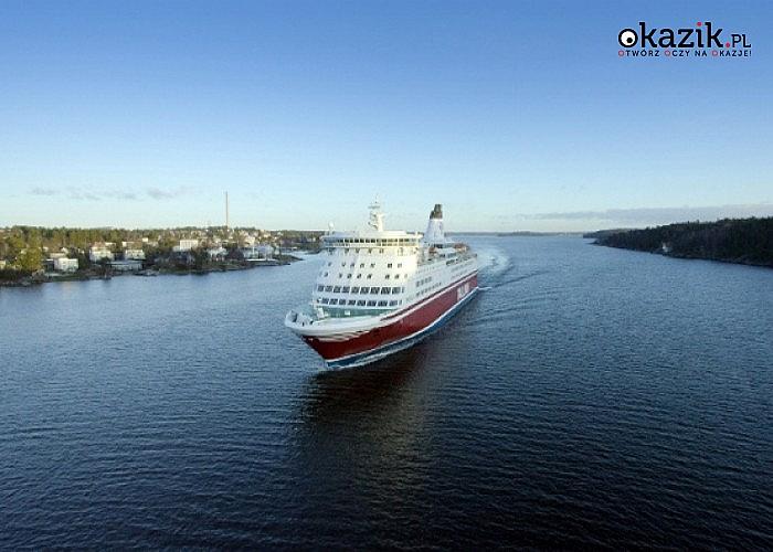 SYLWESTER NA PROMIE! Ryga, Sztokholm, Wilno! 5-dniowa wycieczka! 2 śniadania! Opieka pilota! Zabawa na pokładzie!