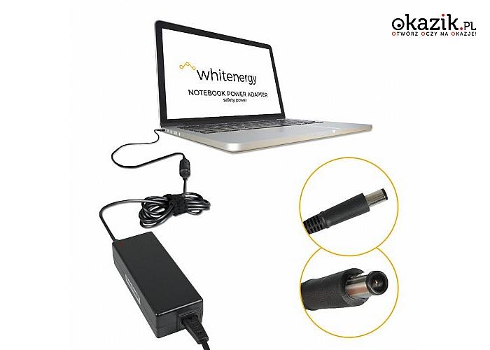 Whitenergy: Zasilacz 04086 19.5V | 6.7A 130W wtyk 7.4*5.0mm + pin Dell
