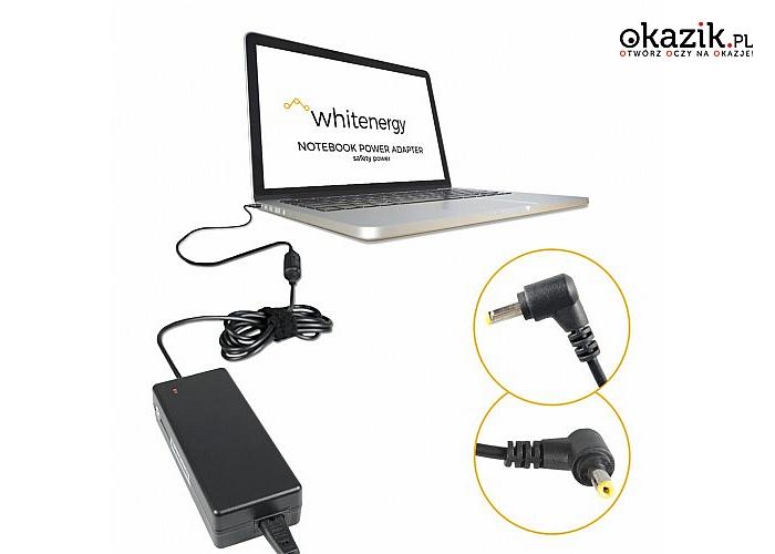 Whitenergy: Zasilacz 19V | 3.42A 65W wtyk 5.5*1.7 Acer (04562)