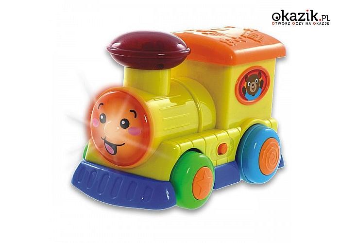 Smily: Pojazdy Sterowane, Lokomotywa z kierownicą