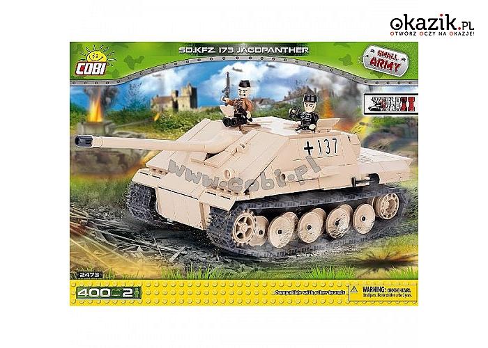 Cobi Klocki: COBI SD.KFZ 173 Jagdpant her