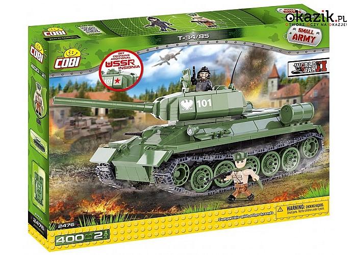 Cobi Klocki: Armia Czołg T34/85
