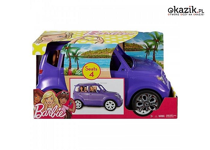 Mattel: Fioletowy SUV Barbie