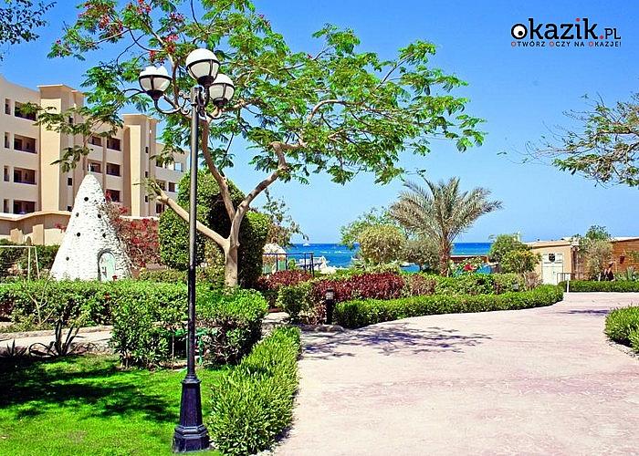 HIT! Sylwester w Egipcie! All Inclusive! King Tut Aqua Park Beach Resort**** Prywatna piaszczysta plaża! Atrakcje!