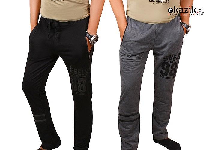 Wygodne miejskie sportowe spodnie dresowe! Dwa kolory! Najwyższa jakość wykonania! Oddychający materiał!