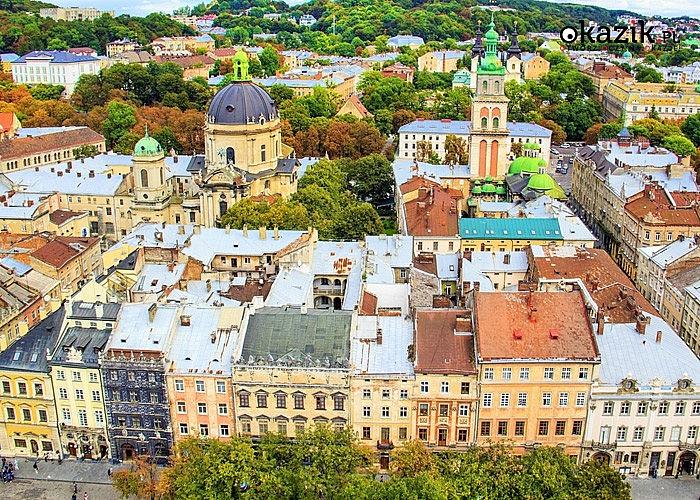 3-dniowa wycieczka weekendowa do Lwowa! Opieka pilota w czasie podróży! Przejazd autokarem klasy PREMIUM!