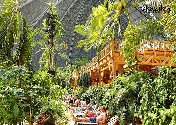 Największy na świecie tropikalny park wodny TROPICAL ISLANDS w Berlinie! Autokar klasy Premium! Opieka pilota!