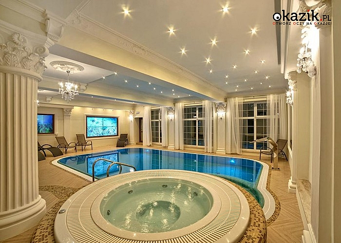 Boże Narodzenie w luksusowym Hotelu Solar Palace**** Spa&Wellness w Mrągowie! Wyżywienie! Bogaty pakiet atrakcji! Basen!