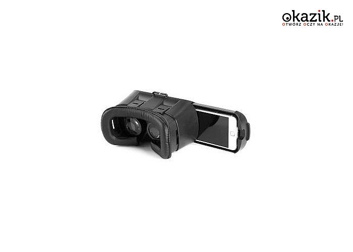 Przenieść się do wirtualnego świata korzystając ze swojego telefonu oraz gogli Garett VR1+ pilot